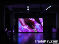 indoor full color led video wall p10