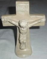 Hand Carved Jesus Crucification Cross Carving