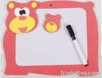 fashion cartoon bear erasable writing board