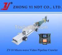 Micro-wave Video X-Ray Pipeline Crawler