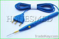 Disposable electrosurgical pencil