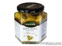 Green Black Stuffed Olives