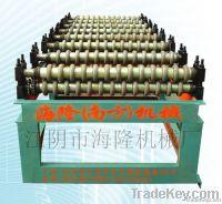 semi-automatic/automatic arc-shaped color steel tile machine