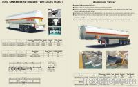 Petroleum, liquid Tank semi trailer
