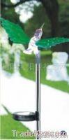 The solar lamp with optical fiber hummingbird edge