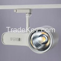 High Lumen 30 W LED Track Lights 2250lm With 16 Degree For Shop Windows