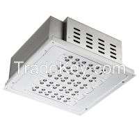 100W IP66 Cool White High luminous LED Canopy Light for petrol station