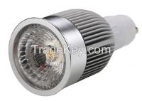 5w white color LED Spotlight Bulbs with GU10 lamp base