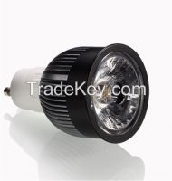5w/7w GU10 LED Spotlight Bulbs with 60-90lm/w, warm/cool white