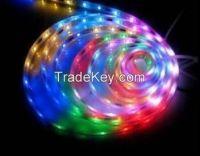 IP20 4.8 ~ 14.4W RGB Low Power Flexible LED Strip Lights 5050 SMD
