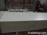 moisture resistant particleboard with white melamine paper