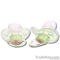 Baby Pacifier with Ring and Cover
