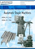 Staple Clip Making Machine