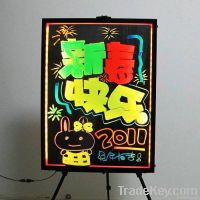led menu board for restaurant