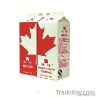 non-dairy whipping cream