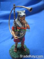 Metal/plastic History and culture series toy    chariot