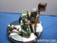 Metal/plastic Person series toy     Leader