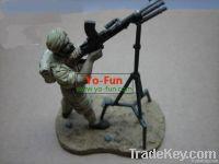Metal/plastic Model Person series toy    Leader