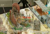 Metal/plastic cartographic Model Map series toy