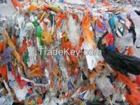 Mix LDPE bags supermarket bags