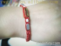 nationality handmade luky red rope weave bracelet