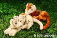 custom animal toy plush tiger