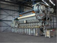 60 MW MAN Diesel Power Plant with 18V48/60 MAN Diesel Engines and ABB Generators