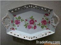 Ceramic art, sculpture, applique, luxury hotels ornamental porcelain