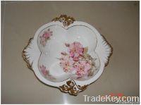 China Art Ceramic decals gilt ornaments