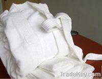 100% cotton terry bathrobe