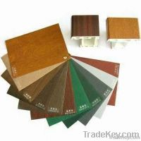 Laminated color PVC Profiles