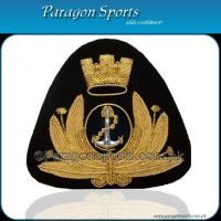 Bullion Handmade Embroidered Cap Badge