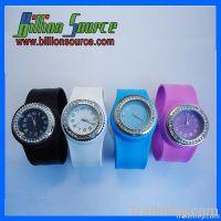 Silicone Slap on Wrist Watch