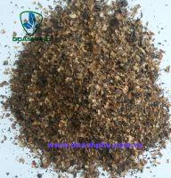 Coffee shell residue