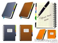High Quality Noteook printing, customize journals