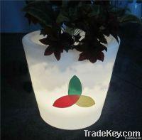 color led planter