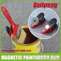 Magnetic Paint Brush Holder Clip