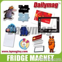 Car magnet and fridge magnet