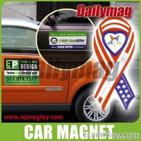 Car magnet and fridge magnet