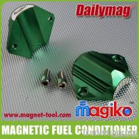 Vehicle fuel saver, magnetic fuel conditioner