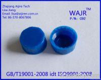 HPLC polypropylene 9mm screw-thread cap