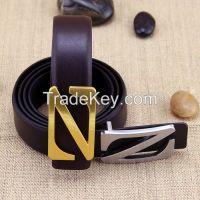 Fashion belt/genunie leather belt/men's belt/ causal belt cowhide leather belt