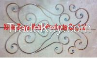 Home Iron Railing Decor Panel