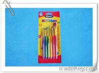6PCS ARTIST BRUSHES SET(water color brush, oil color brush, nylon brush