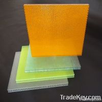 optical honeycomb panel