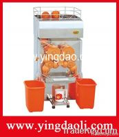 Automatic commercial orange juice extractor