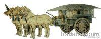 Qin Dynasty Bronze Chariots & Horses