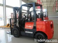 Qingong 3 Tons Diesel Powered Forklift CPCD30F