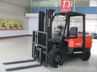 Qingong 3.5 Tons Diesel Powered Forklift CPCD30F