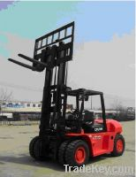 Qingong 8 Tons Diesel Powered Forklift CPCD80